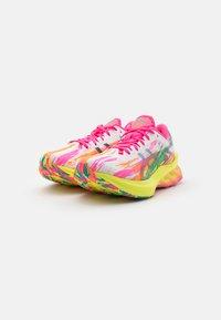 ASICS - NOVABLAST NOOSA - Zapatillas de running neutras - hot pink/sour yuzu - 1