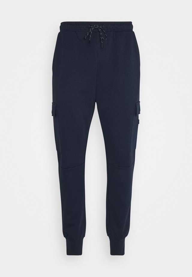 JJIGORDON JJAIR PANTS - Cargo trousers - navy blazer
