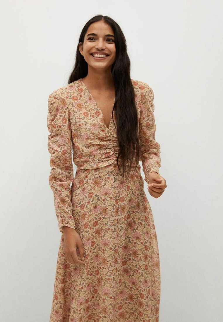Mango - Day dress - beige