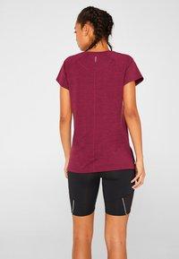 Esprit Sports - Print T-shirt - dark pink - 2