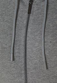 Armani Exchange - Mikina na zip - grey heather - 2