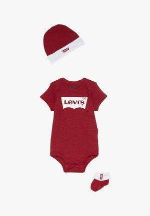 CLASSIC BATWING INFANT SET - T-shirt print - red