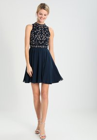 Lace & Beads - ALLEY SKATER - Cocktail dress / Party dress - navy - 2