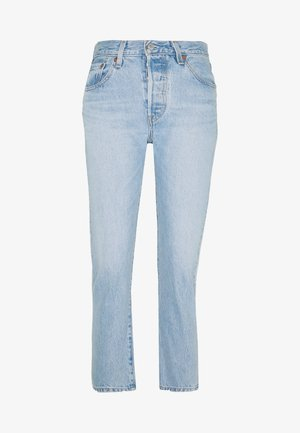 501® CROP - Jeans slim fit - light blue denim