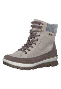 Jana - Winter boots - rose/beige - 3