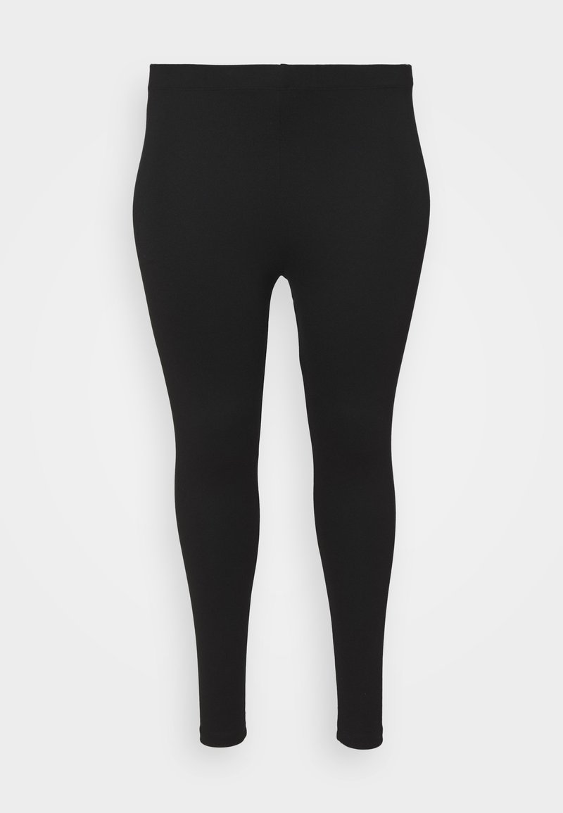 Evans - PONTE - Leggings - Trousers - black