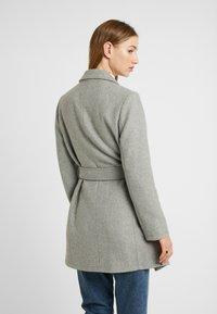 Springfield - ABRIGO PAÑO CINTURON - Short coat - grey - 2