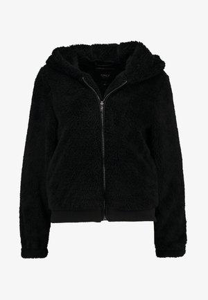ONLANNA CONTACT - Fleece jacket - black