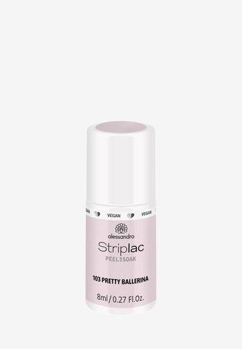 STRIPLAC PEEL OR SOAK 8ML UV-LAMP - VEGAN - Nail polish - pretty ballerina