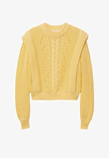 Sweter - amarillo