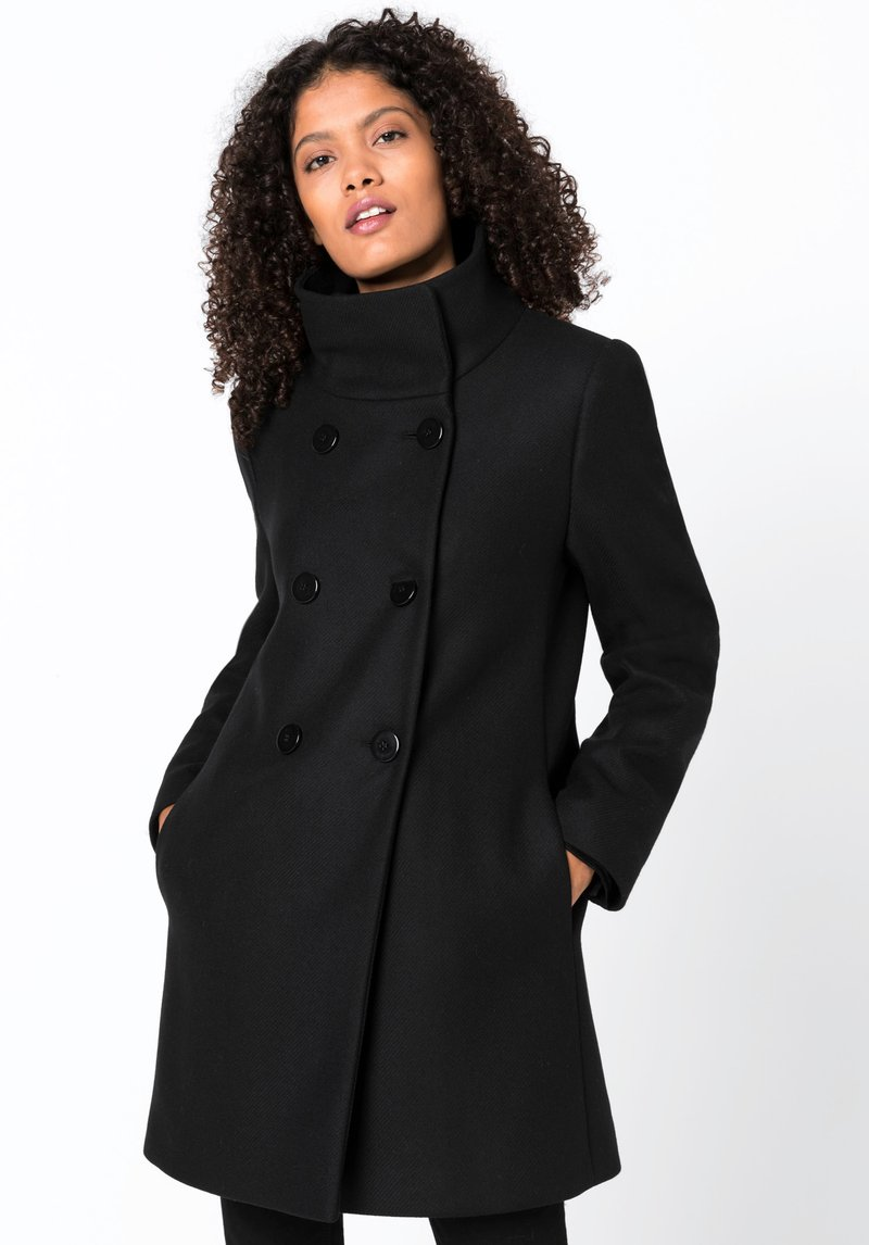 HALLHUBER - Manteau court - black
