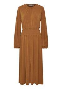 InWear - CHRISTELIW  - Jerseyjurk - leather brown - 1