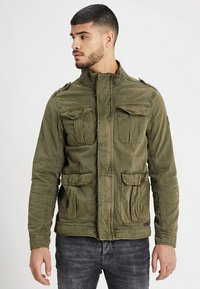 INDICODE JEANS - HUCKLE - Summer jacket - army - 0