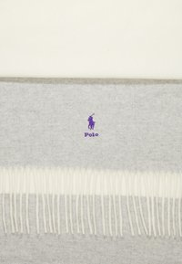 Polo Ralph Lauren - SCARF - Sciarpa - cream/grey - 2