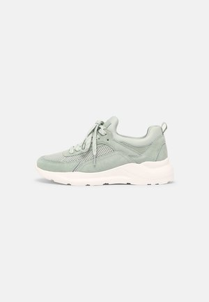 LEATHER - Sneakersy niskie - mint