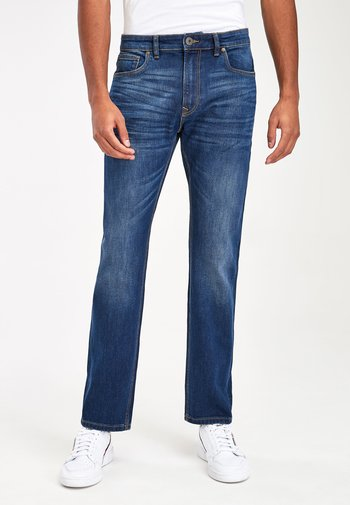 DARK BLUE SLIM FIT JEAN WITH STRETCH - Slim fit jeans - blue