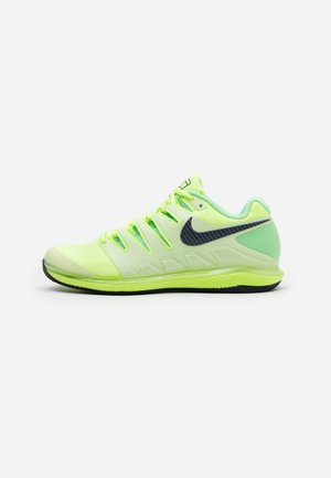 AIR ZOOM VAPOR - Clay court tennis shoes - ghost green/blackened blue/barely volt