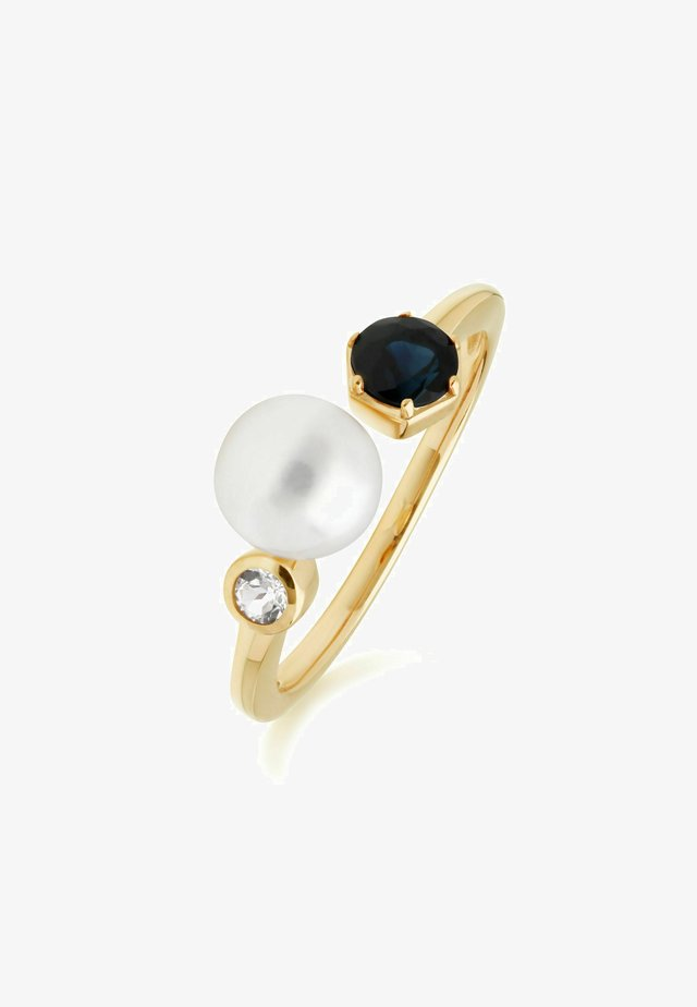 Ring - gold, blue