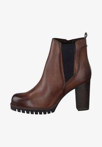 Marco Tozzi - Ankle boots - cognac - 1