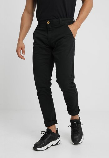 SLIM FIT - Chinot - black