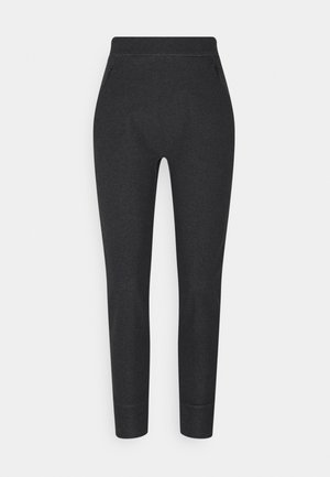 MOMENTA JOGGER WOMENS - Tracksuit bottoms - black heather
