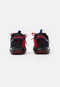 Nike Performance - PG 4 - Basketbalové boty - black/metallic silver/rush blue/university red - 2
