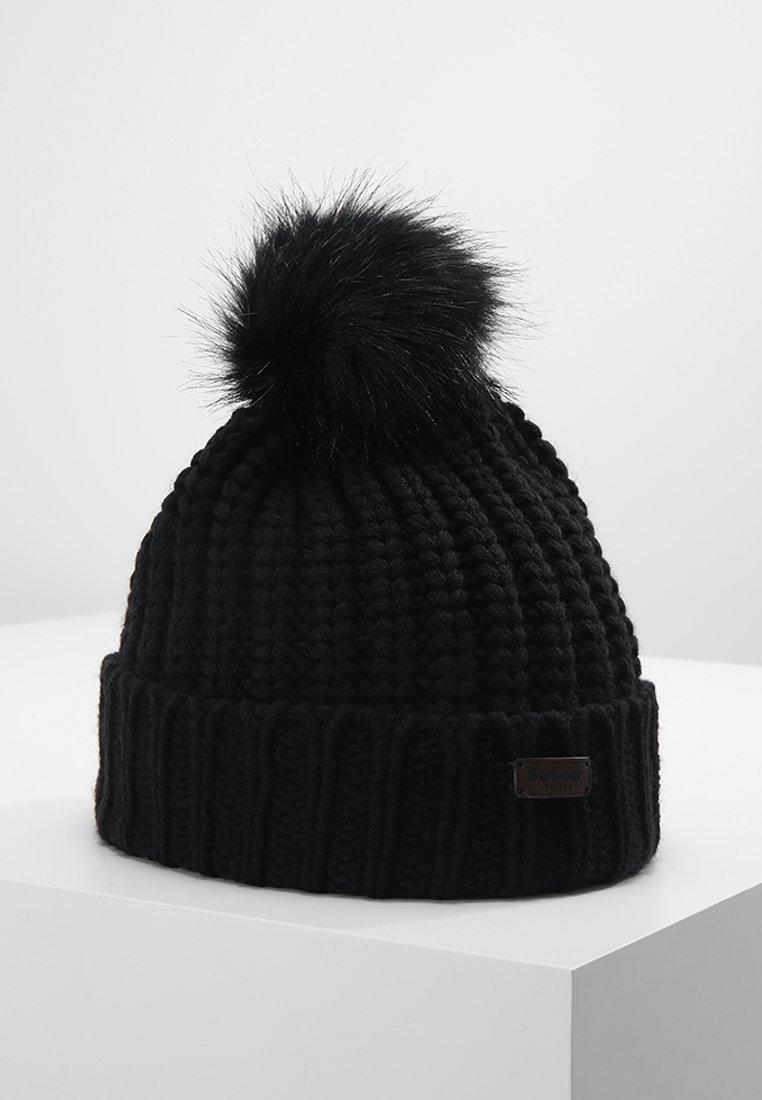 Barbour - SALTBURN BEANIE - Mütze - black
