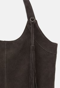 Anna Field - LEATHER - Tote bag - anthracite - 3