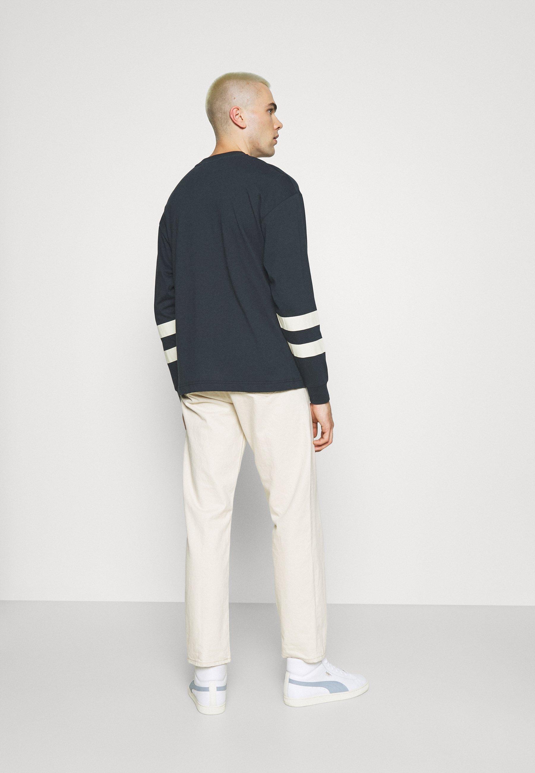 Men ARTICLE BLOCK CREW UNISEX - Long sleeved top