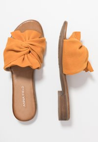 Anna Field - LEATHER - Mules - orange - 3