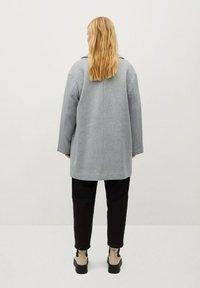Violeta by Mango - CRUZA - Short coat - hellgrau meliert - 2
