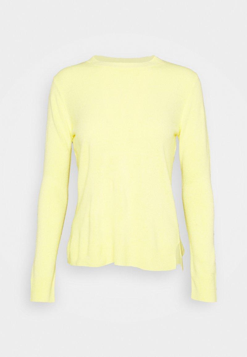 Marks & Spencer London - CREW - Trui - yellow