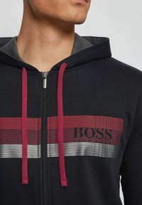BOSS - AUTHENTIC  - veste en sweat zippée - black - 3