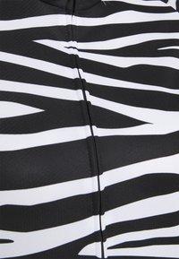 8848 Altitude - ELLA BIKE JUNGLE - Cycling Jersey - zebra black - 2