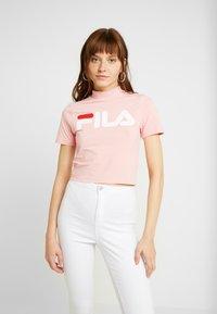 Fila - EVERY TURTLE TEE - Print T-shirt - quartz pink - 0