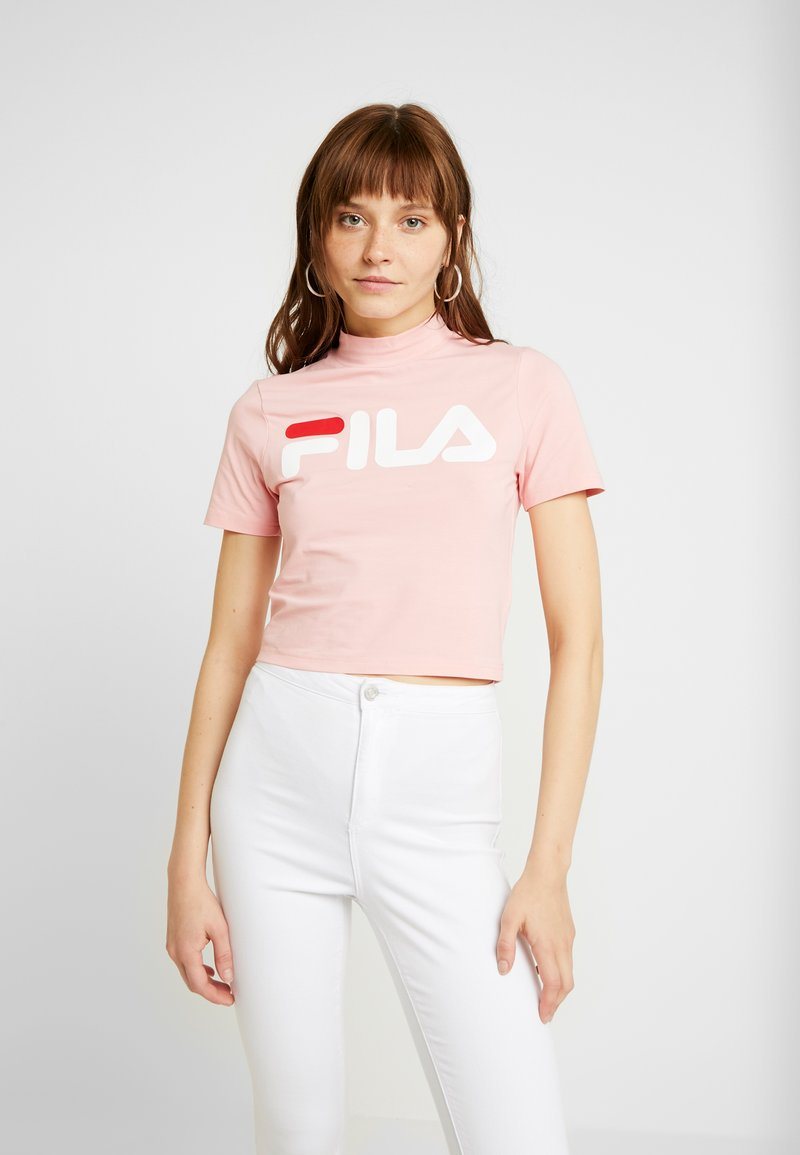 Fila - EVERY TURTLE TEE - Print T-shirt - quartz pink