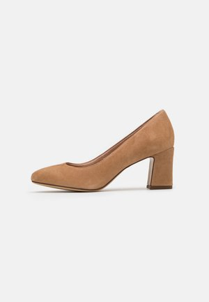 COURT SHOE - Classic heels - nude