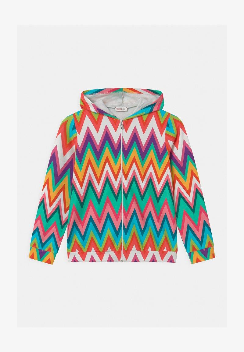 Missoni Kids - ZIP CAPPUCCIO - Zip-up sweatshirt - multi-coloured
