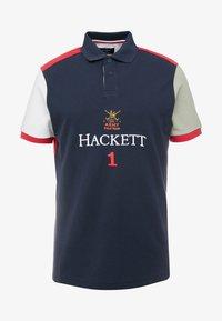 Hackett London - Koszulka polo - navy/multi - 3