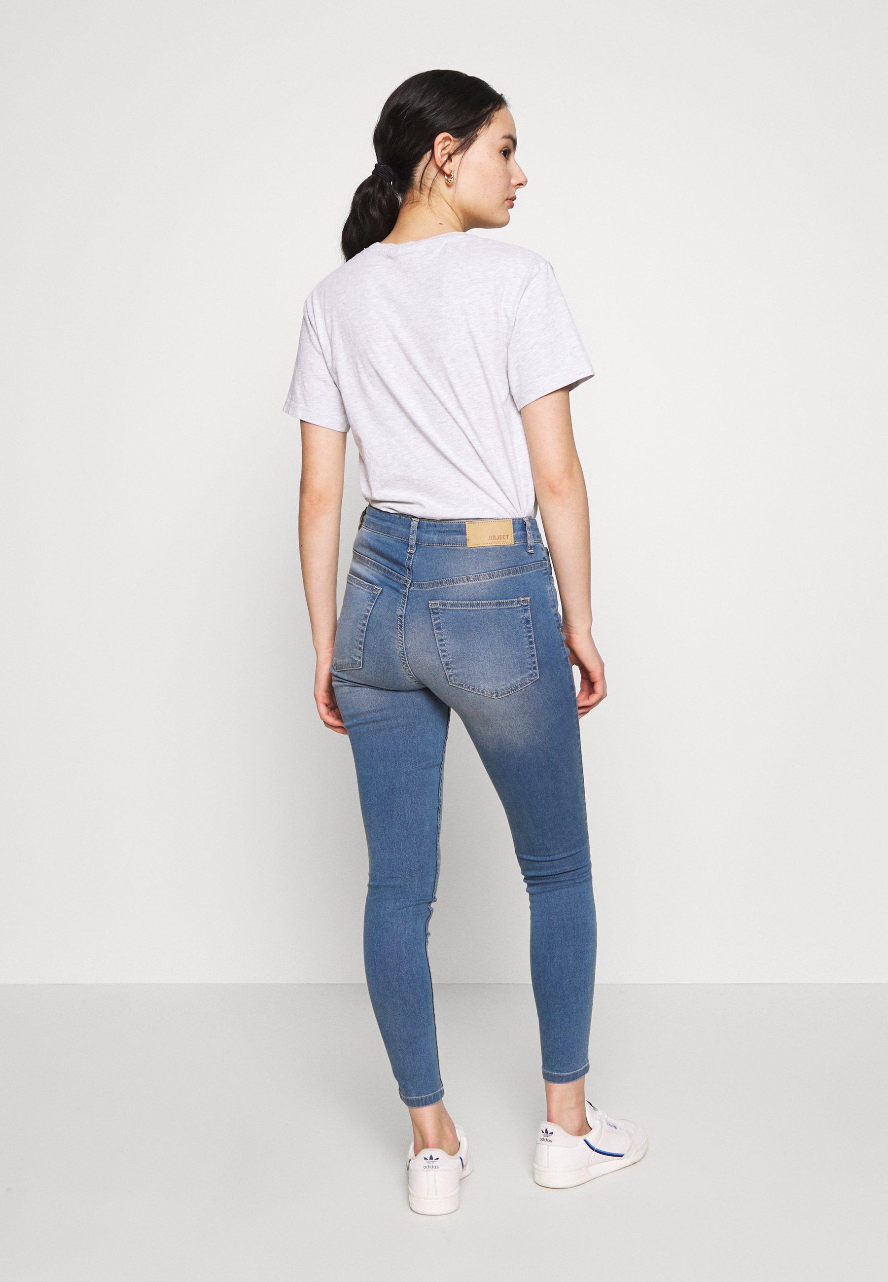 Damer OBJSOPHIE - Jeans Skinny Fit