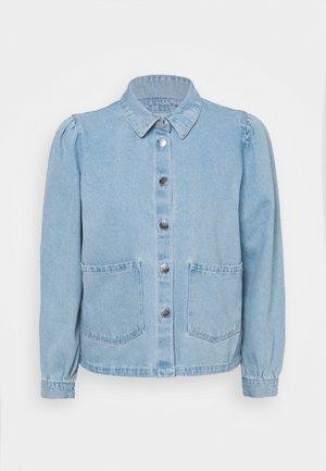 ONLRIZZ JACKET YORK - Denim jacket - light blue denim