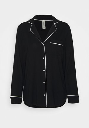 Pyjamasoverdel - black