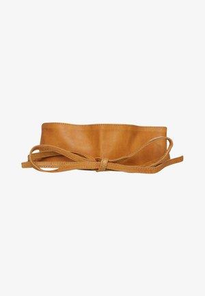 VIBS  - Waist belt - cognac