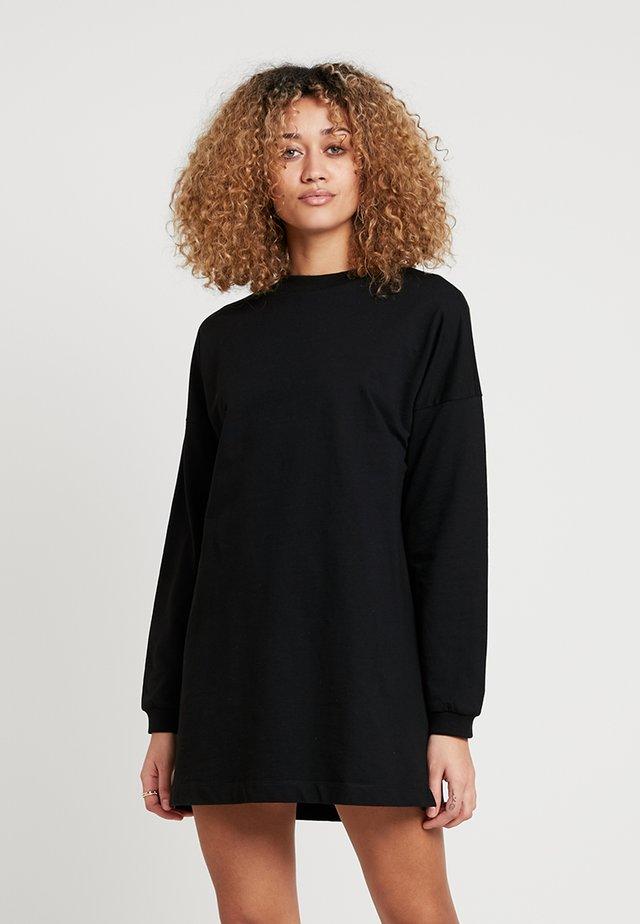 THROUGH THE HOOD - Day dress - black