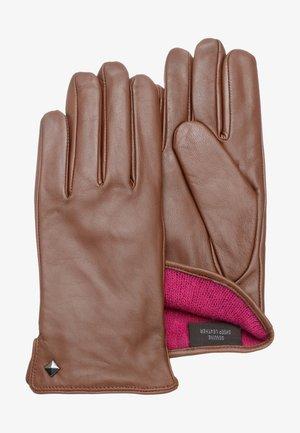 MEG - Gloves - cognac