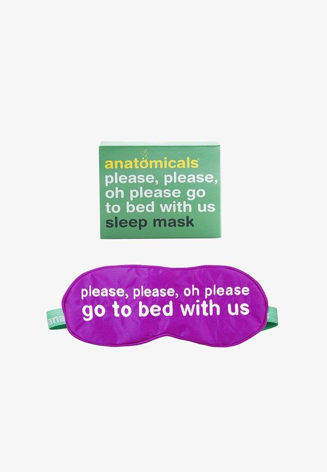 SILK SLEEP MASK - Beauty-accessoire - neutral