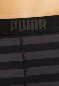 Puma - STRIPE BOXER 2 PACK - Panties - black - 5
