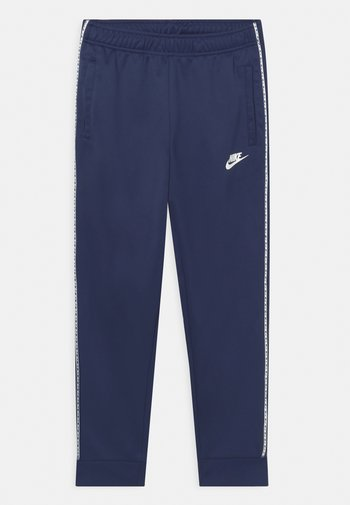 REPEAT - Tracksuit bottoms - midnight navy/white