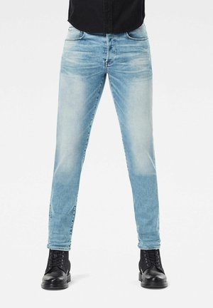 3301 STRAIGHT TAPERED - Jean droit - sun faded aqua marine