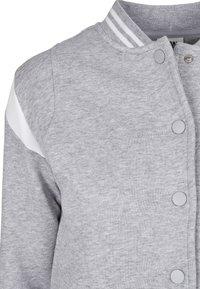 Urban Classics - Zip-up hoodie - grey white - 13